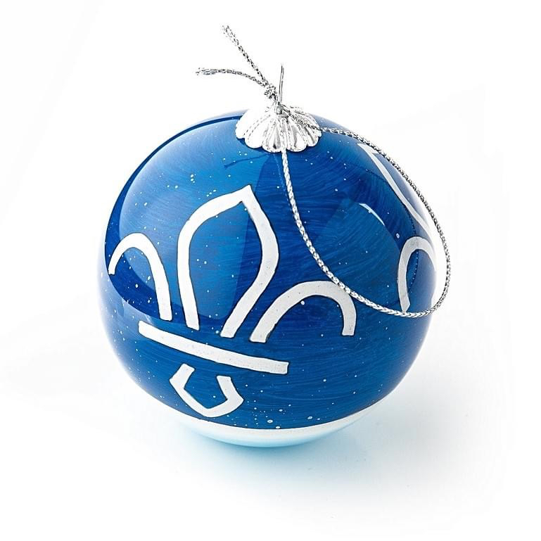 christmas tree ornament with the Scout logo on