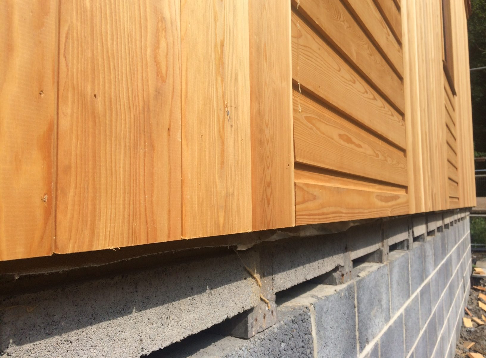 larch cladding